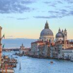 La histórica laguna, Venecia