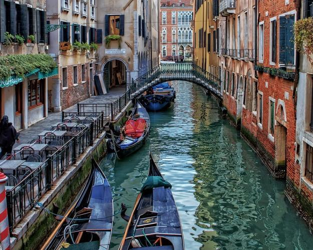 Viaje a Venecia, Italia