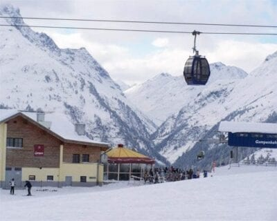 Esquí en Austria en la famosa zona de esquí del Arlberg