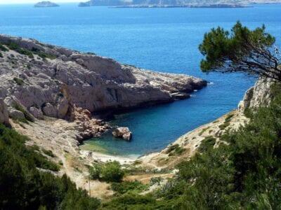 Enamorate de la bella La Costa Azul en Marsella, Francia