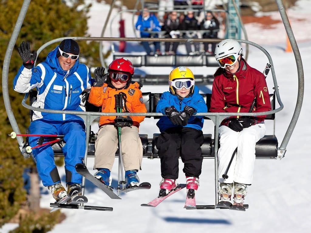 El Principado de Andorra. Lugar ideal para esquiar