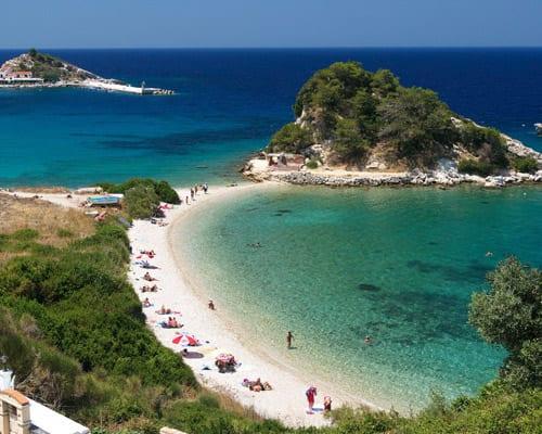 Samos, una isla de ensueño en Grecia.