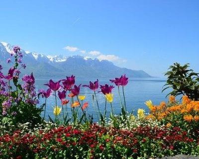 Viaje a Ginebra, Suiza