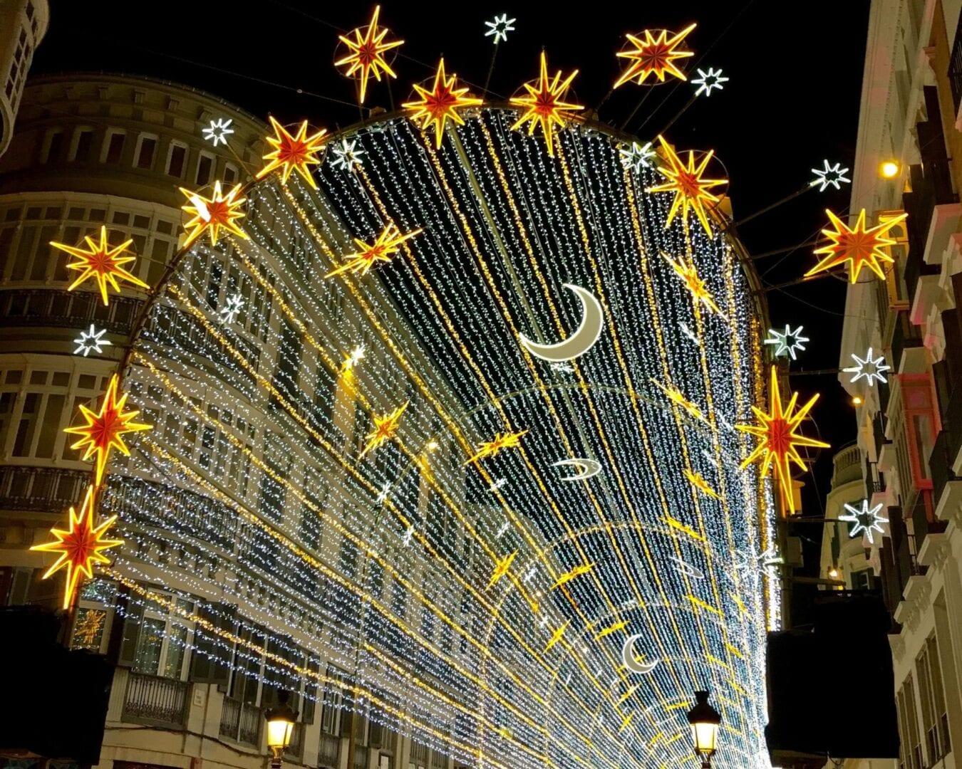 Enamórate de la Navidad en Málaga desde Barcelona