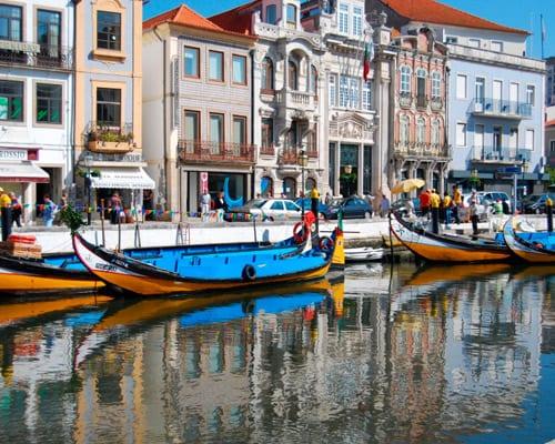 Viaje a Aveiro, Portugal. Incluido alquiler de coche