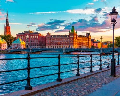 Viaje a Estocolmo, Suecia