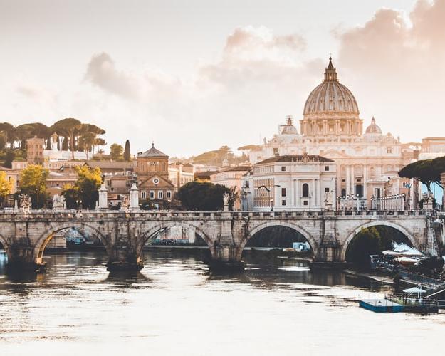 Viaje a Italia y visitando Roma