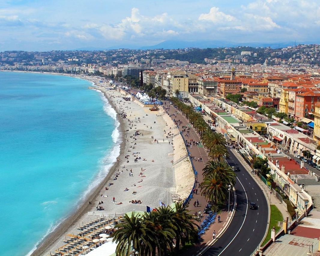 Viaje a Niza, Côte d'Azur