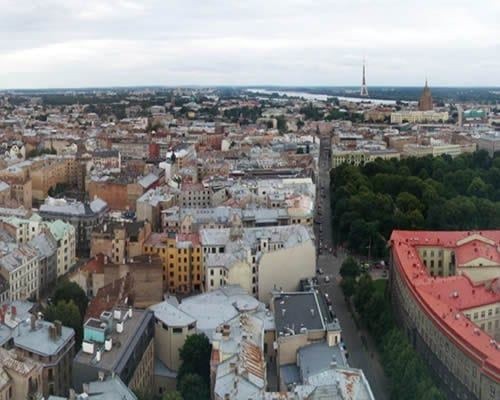 Viaje a Riga, Letonia