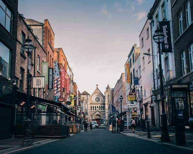 Viaje a Dublín, Irlanda