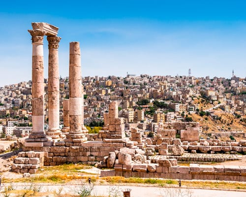 Viaja a Amman, Jordania