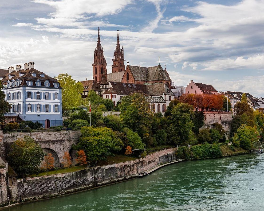 Viaje a Basilea, Suiza
