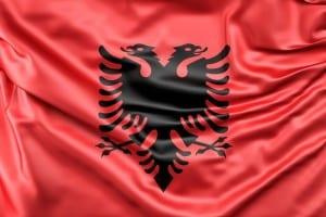 Albania Bandera Europa