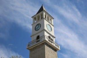 Albania Torre Del Reloj Tiempo