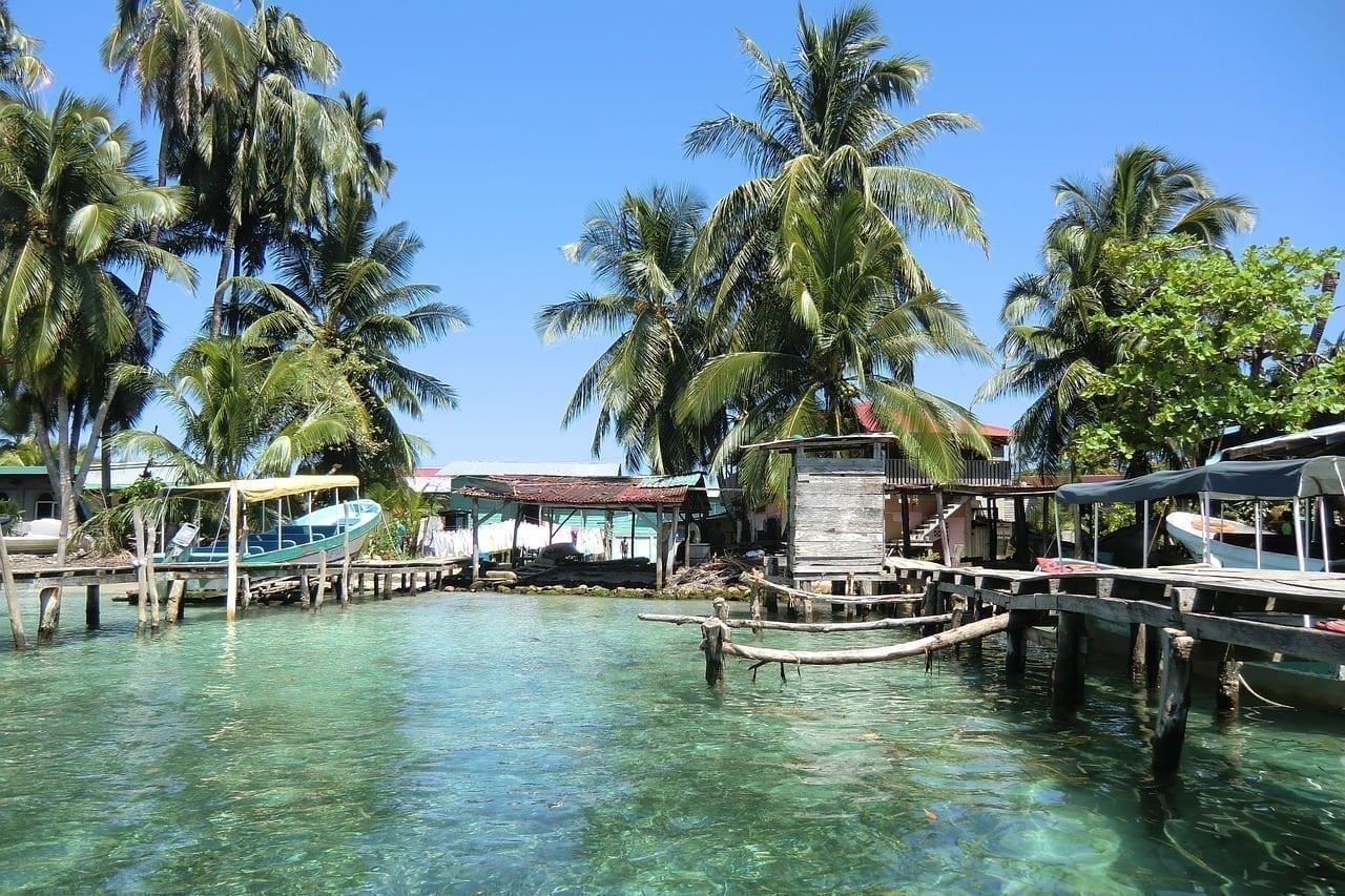 América Del Sur Panamá Mar