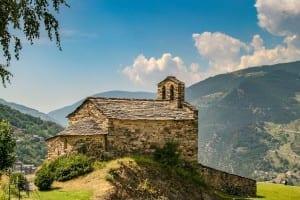 Andorra Pirineos Montañas