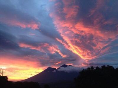 Atardecer Guatemala Maravilloso