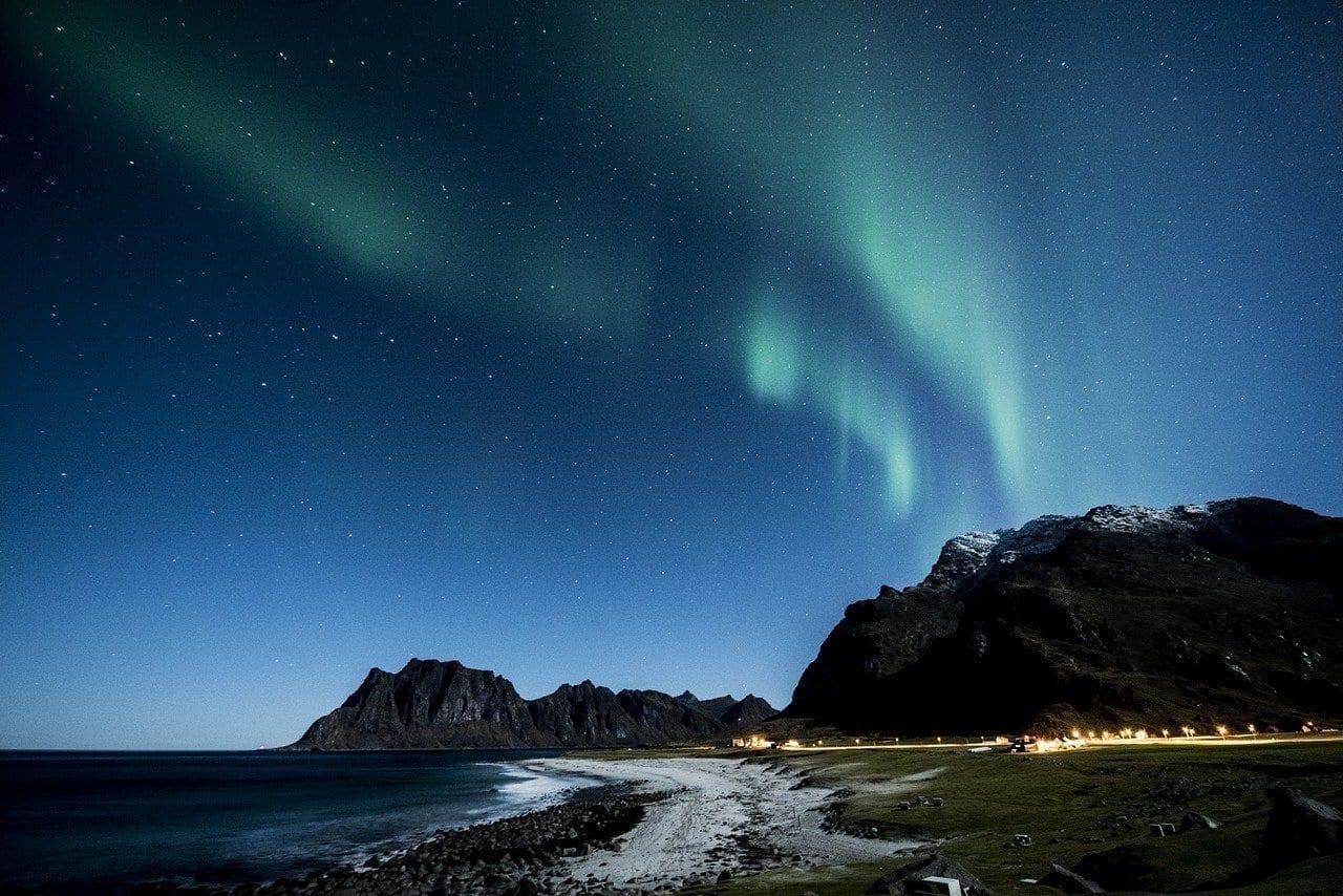 Aurora Borealis Lofoten Noruega