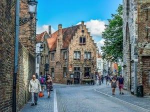 Bélgica Brugge Arquitectura