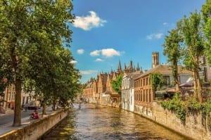 Bélgica Brugge Canal