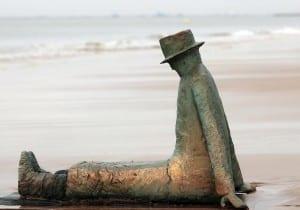 Bélgica Estatua Knokke