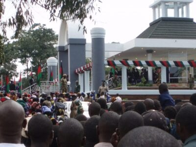 Banda del Mausoleo Malawi
