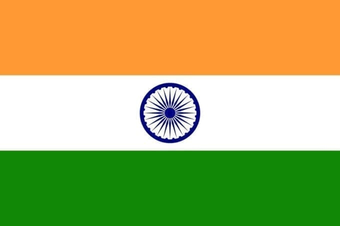 Bandera de India