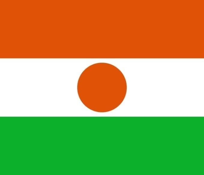 Bandera de Níger