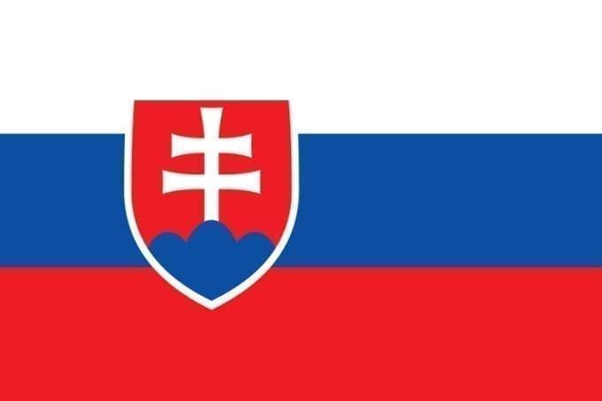 Bandera de República Eslovaca