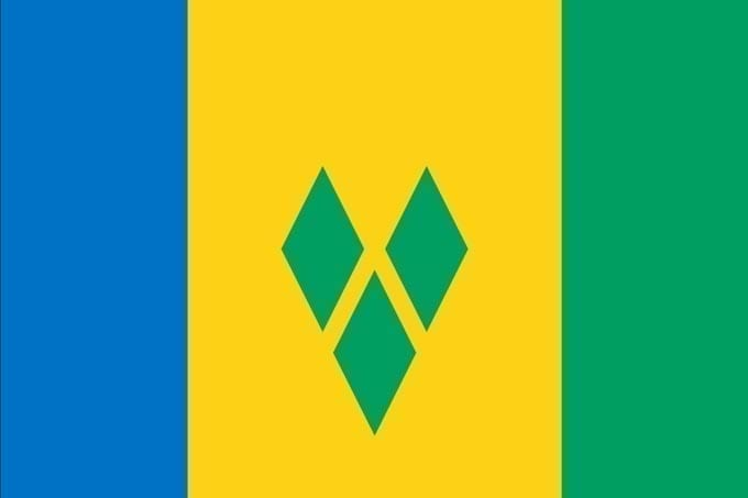 Bandera de San Vicente y Granadinas