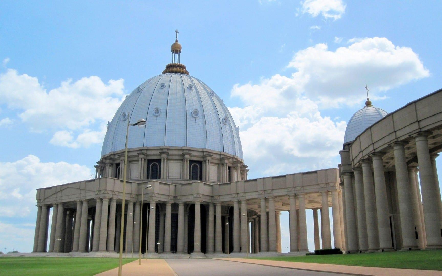 Basílica de Nuestra Señora de la Paz de Yamoussoukro Costa de Marfil