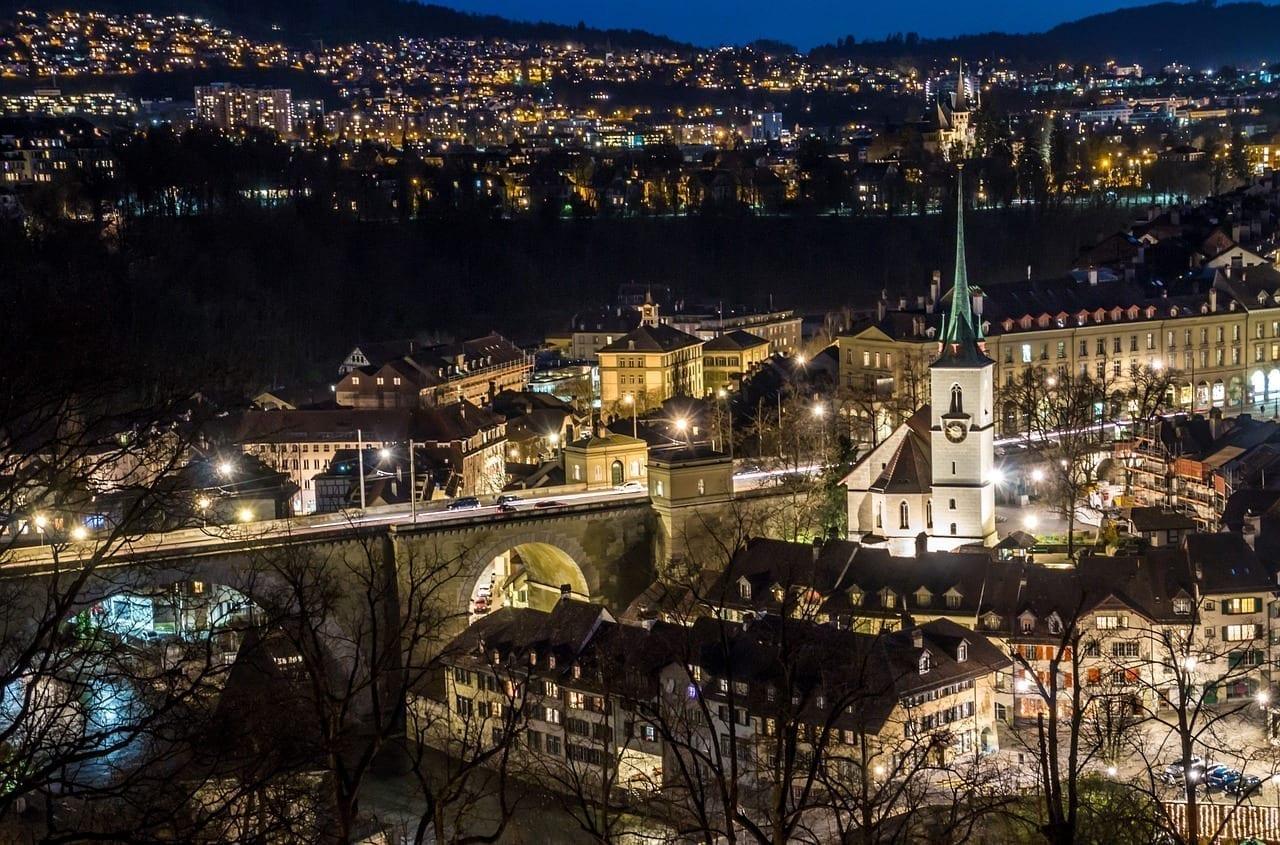 Berna Suiza Jardín De Rosas