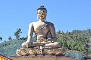 Buda Estatua Bután
