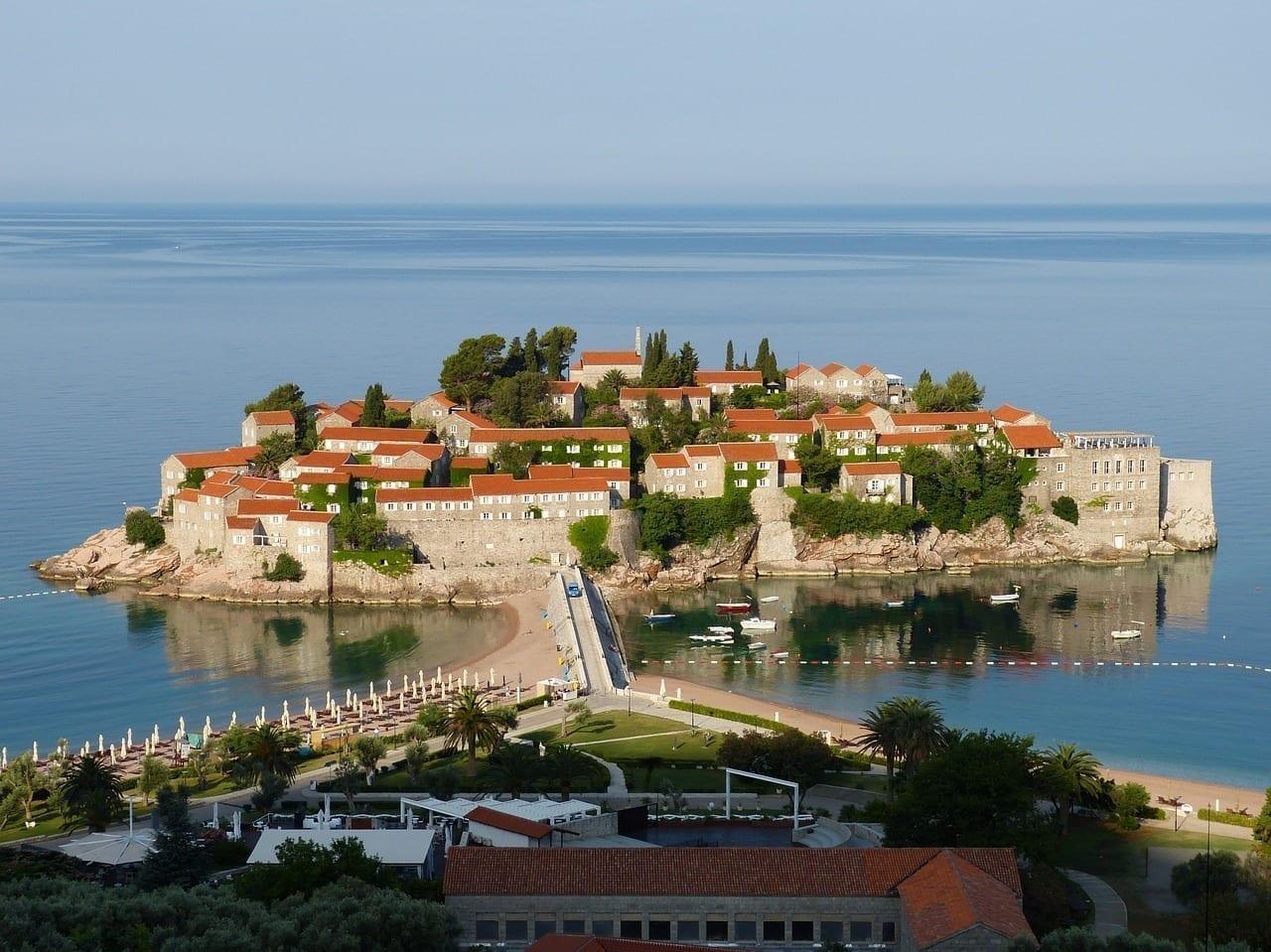 Budva Montenegro Los Balcanes