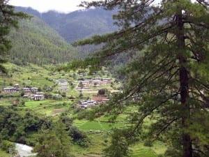 Bután Montañas El Turismo