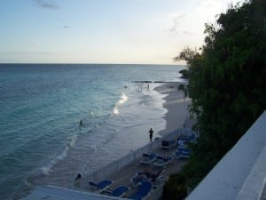 Butterfly Beach en la costa sur Barbados