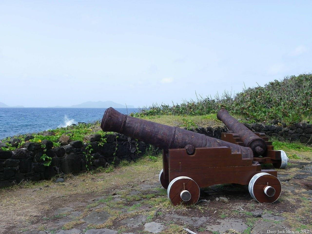 Cañones Defensa Del Mar Guadalupe