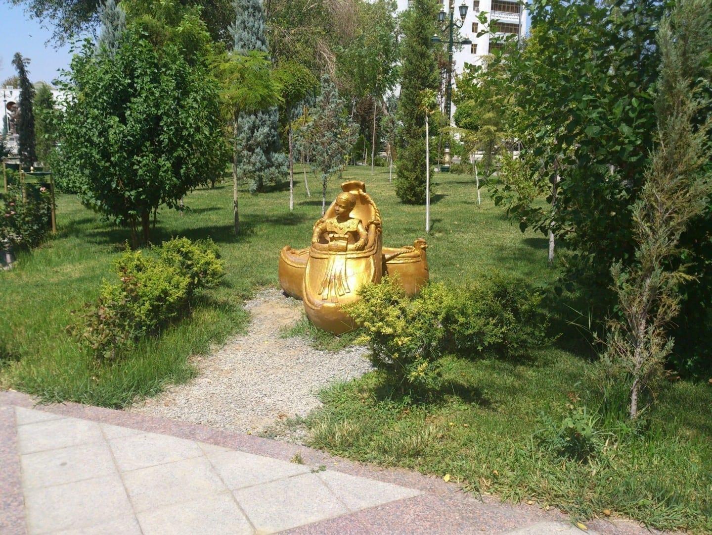 Callejón Ylham Ashgabat Turkmenistán