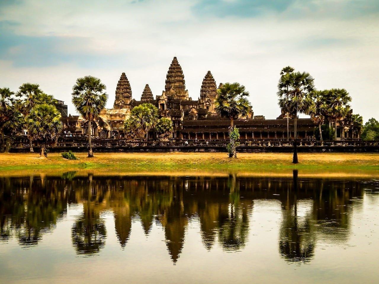 Camboya Ruina Templo
