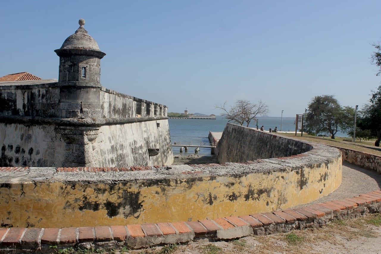Cartagena Colombia Fuerte Militar