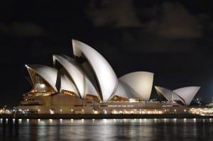 Casa De La ópera Sydney Australia