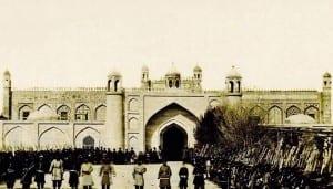 Castillo y Palacio en el siglo XIX Azerbaiyán