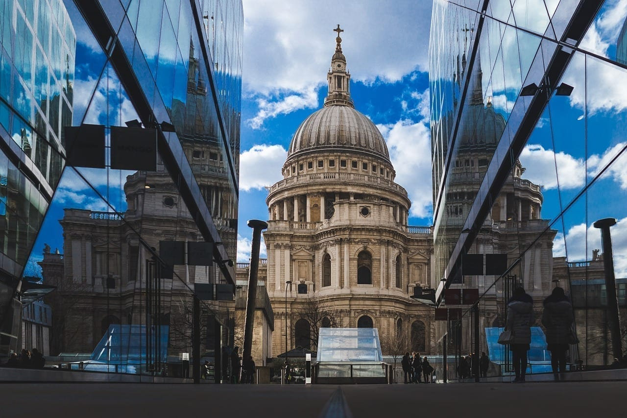 Catedral De St Pauls Londres Reino Unido