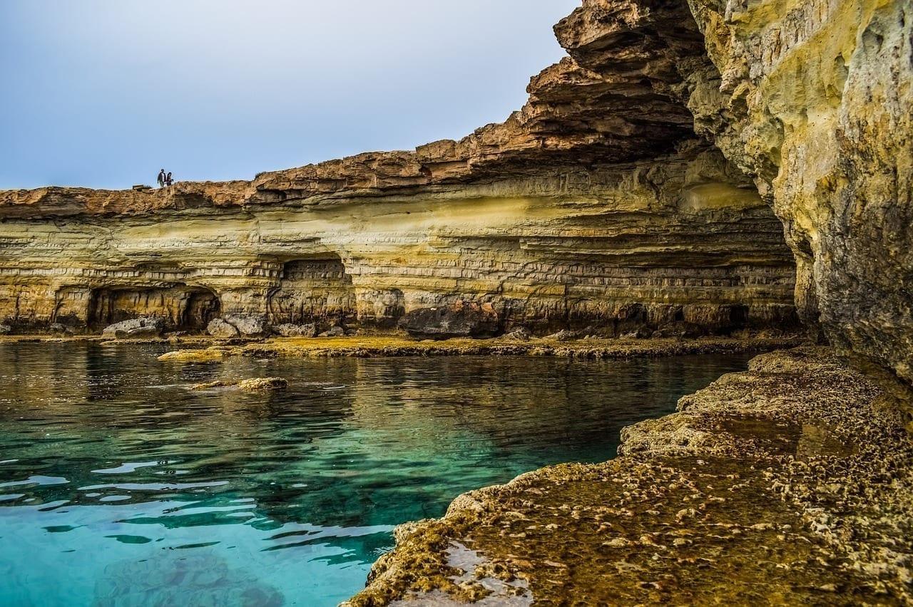 Cavo Greko Chipre Cuevas De Mar
