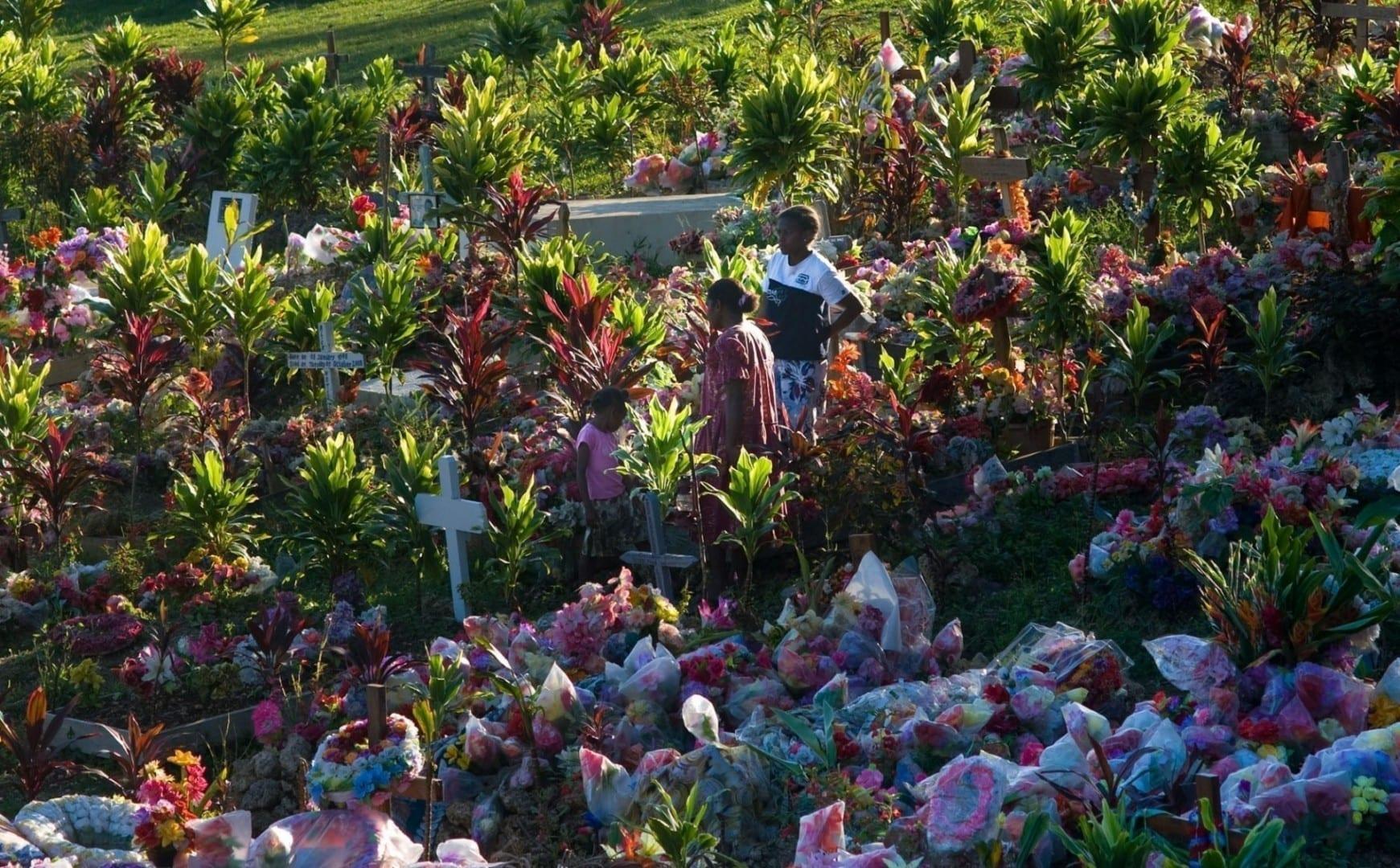 Cementerio de Port-Vila Vanuatu