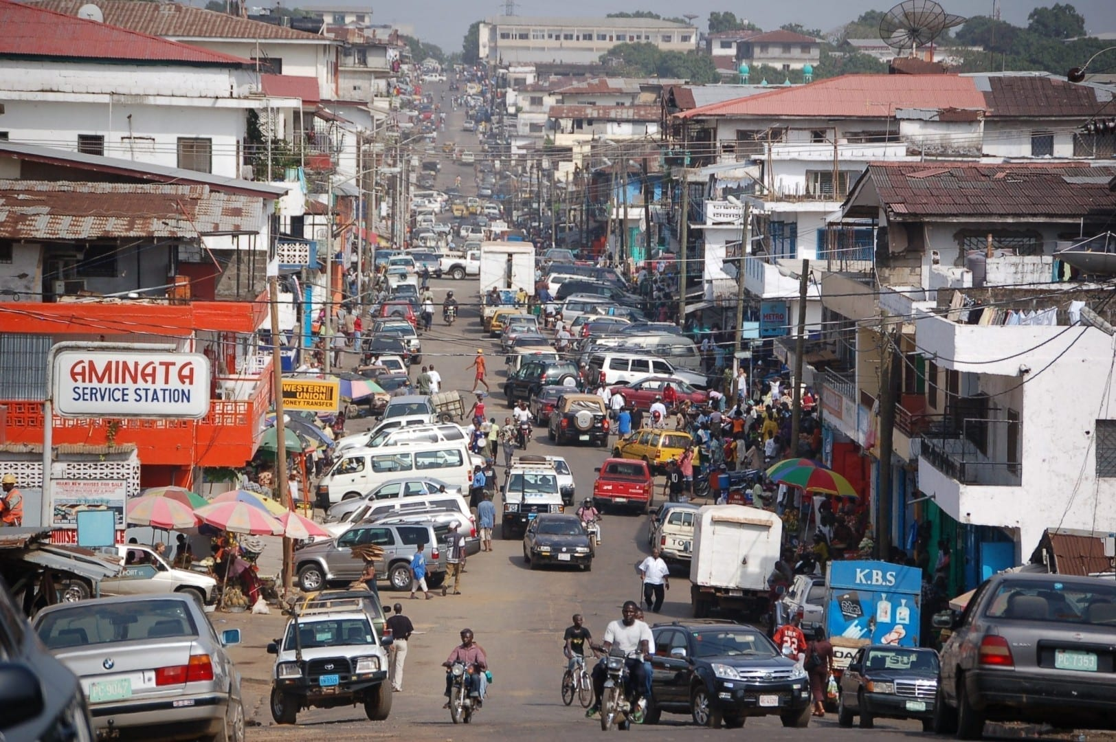 Centro de Monrovia Liberia