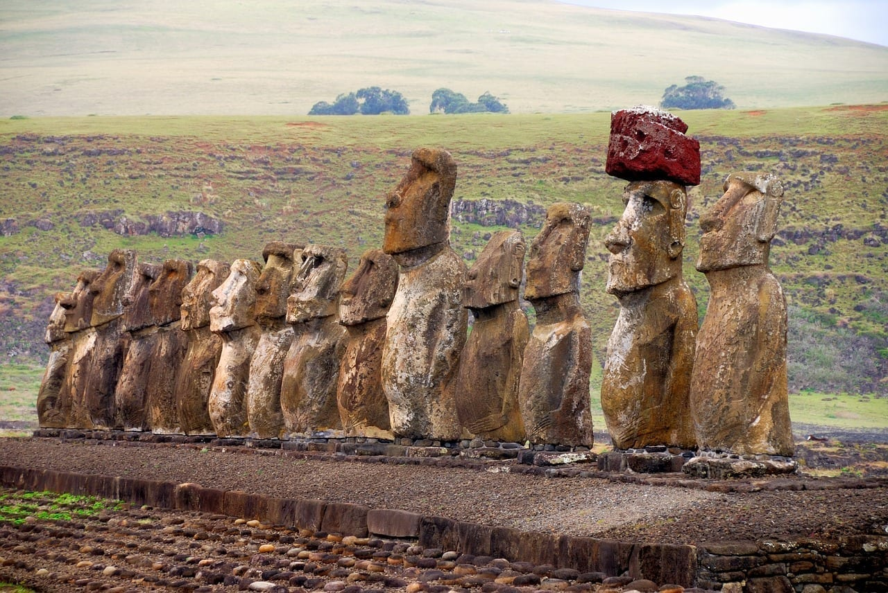Chile Isla De Pascua Rapa Nui