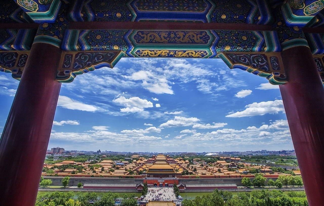 China Beijing Edificio