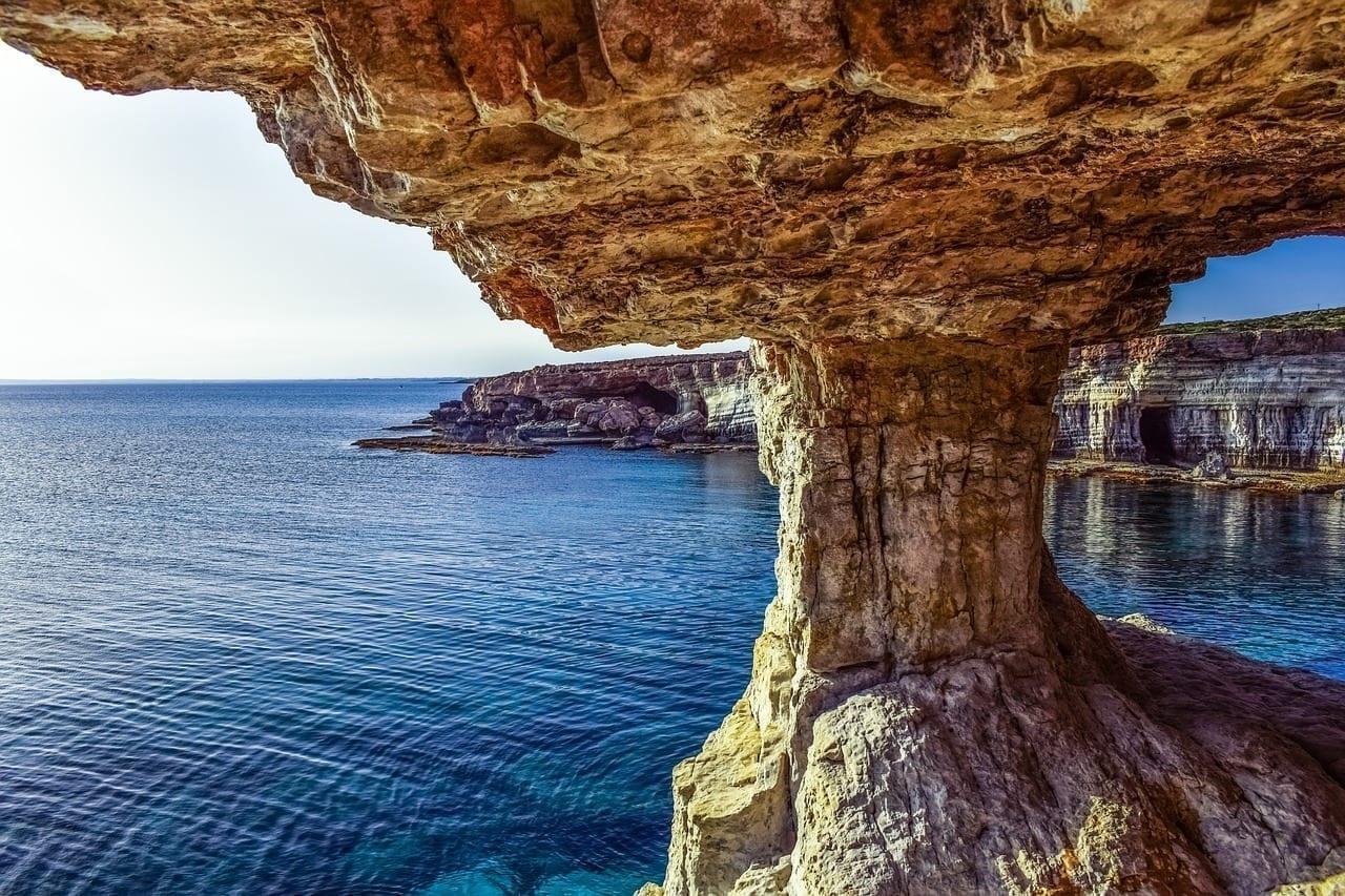 Chipre Cavo Greko Cuevas De Mar