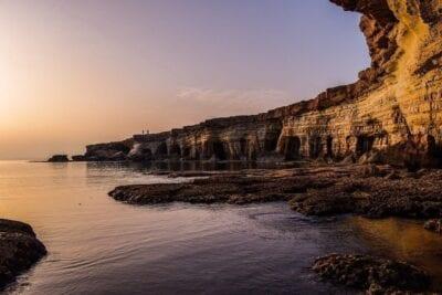Chipre Costa Cliff